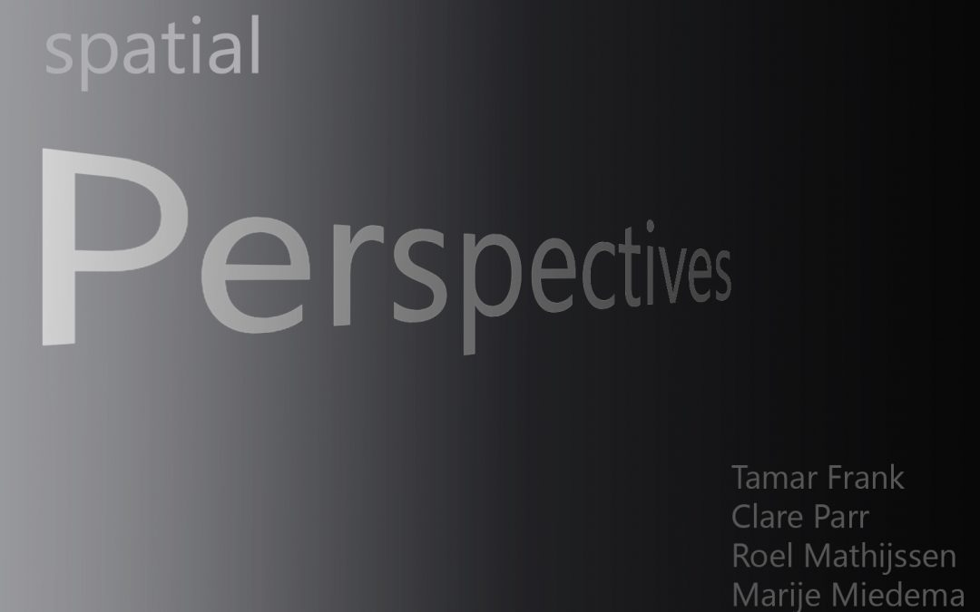 Opening #AMP3: Spatial Perspectives