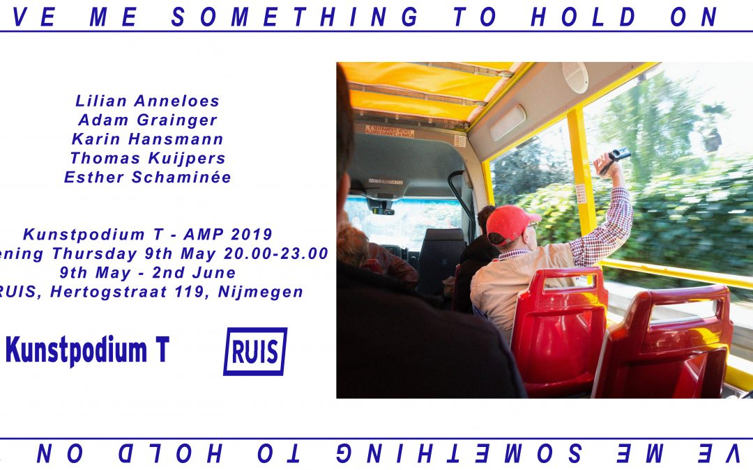 Opening 'Give Me Something To Hold On To' – Donderdag 9 mei