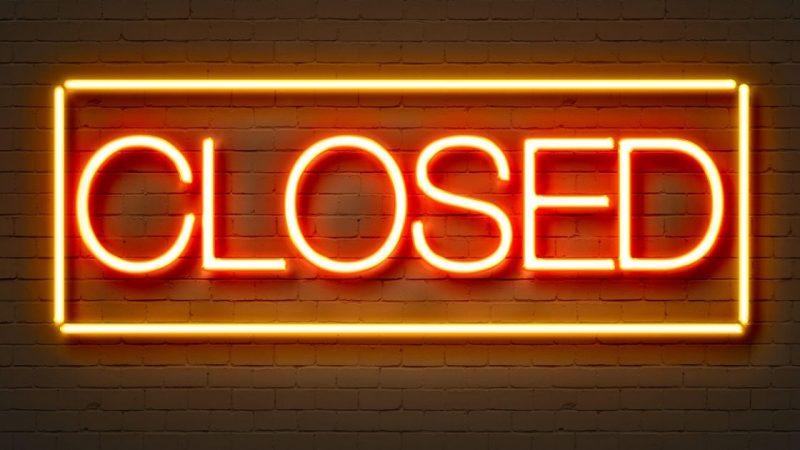 1 en 2 februari gesloten