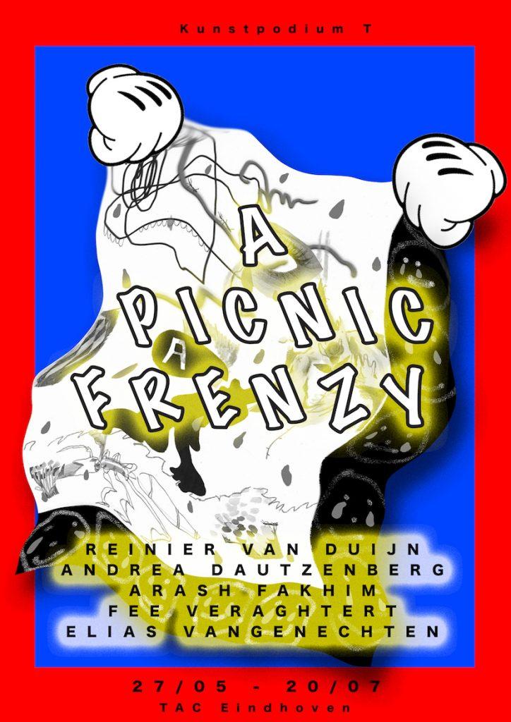 Poster expositie A Picnic Frenzy bij TAC in Eindhoven