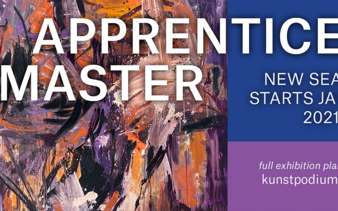 Expositie-data Apprentice Master 2020/2021 bekend!
