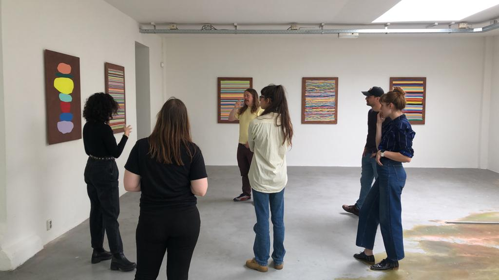 Inversie expertmeeting met Daan den Houter in galerie Frank Taal