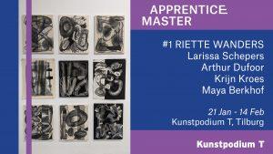 Apprentice Master #1: Riette Wanders, Larissa Schepers, Arthur Dufoor, Krijn Kroes en Maya Berkhof