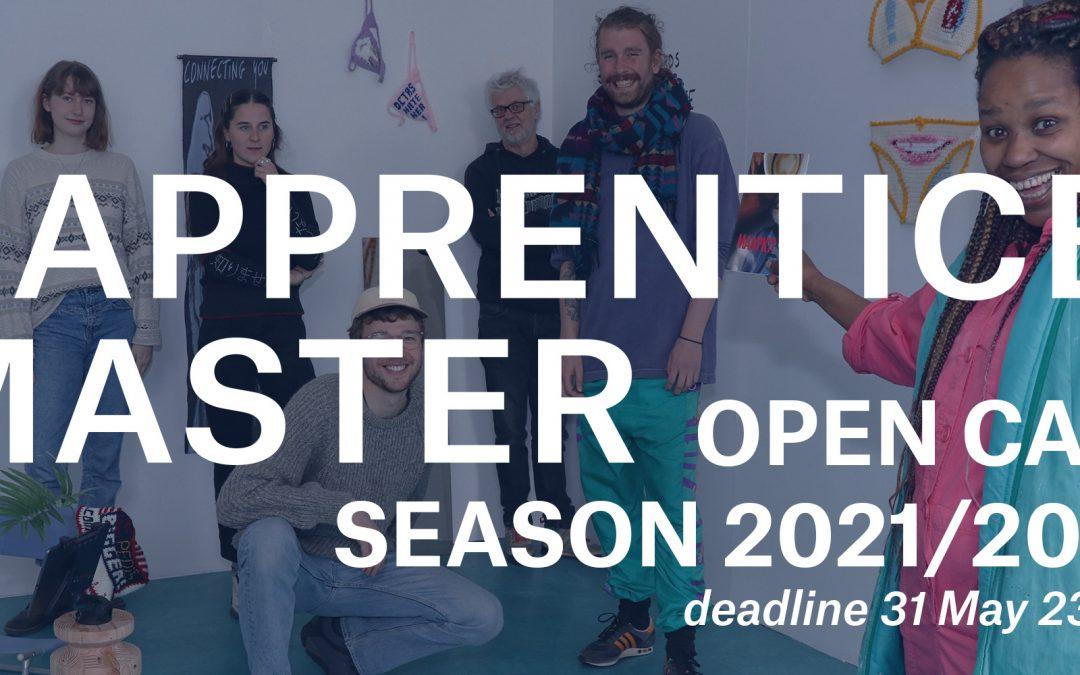 OPEN CALL Apprentice Master project 2021/2022